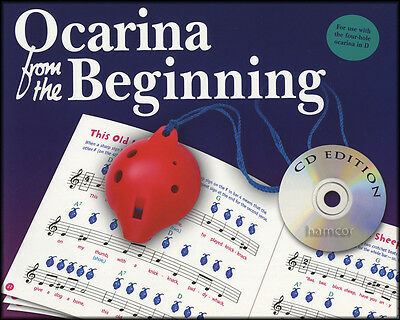 Ocarina from the Beginning Music Book/CD Learn How to Play Beginner Method