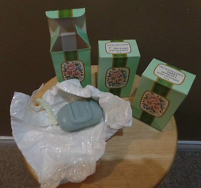 """Vintage Avon MOONWIND  LOT 3 """"SOAPS ON A ROPES"""" w Original BOXES & Wrapping~New"""