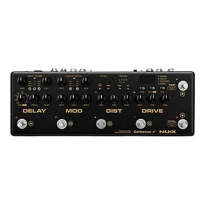 Nux Cerberus Integrated Analog Guitar Multi Effects Pedal Controller w/ MIDI