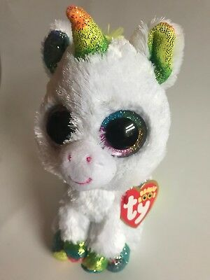 Official TY Beanie Boo's Pixy The Unicorn Plush Soft Toy