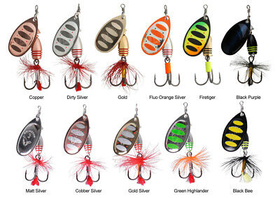 Savage Gear Rotex Spinner Lure Pike Salmon Perch Fishing - All Sizes