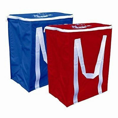 Large Cool Bag Cooling Cooler Collapsible Picnic Camping BBQ Beach Can Drinks
