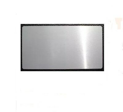 Silver Blank Sublimation Metal Business Card 8.5x4.6cm