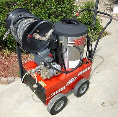 Used Hotsy 555ss Electric Hot Water Pressure Washer SN: C17903