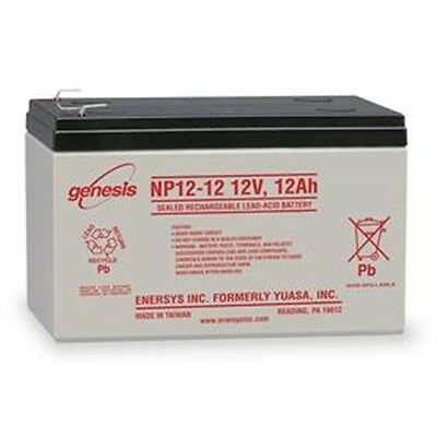 Enersys 2 Pack - 12V 12Ah F2 UPS Battery Replaces Gruber Power GPS12-12, GPS