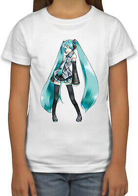 Hatsune Miku Violet Manga Anime Cool Kids Boys Girls Unisex Top Gift T-Shirt 511