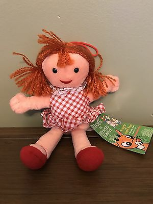 1998 Rudolph the Red Nosed Reindeer Island of Misfit Toys Misfit Doll 8 In Plush