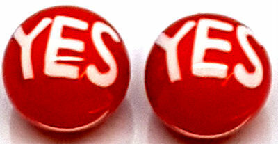 Pair YES YES Spare Replacement Ball Balls UV Acrylic fr Barbell Labret Bar Ring