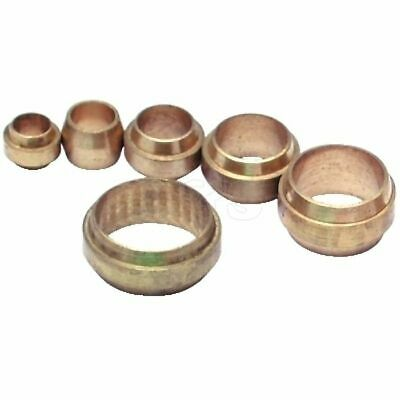 "Imperial Brass Stepped Olives, Sizes: 5/32""-5/8"" Assorted Pack of 150"