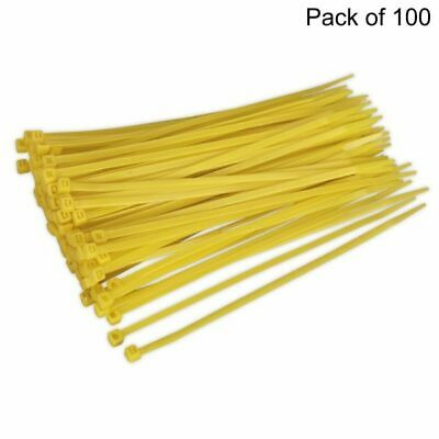 Cable Ties (Yellow) Size: 4.8x200mm