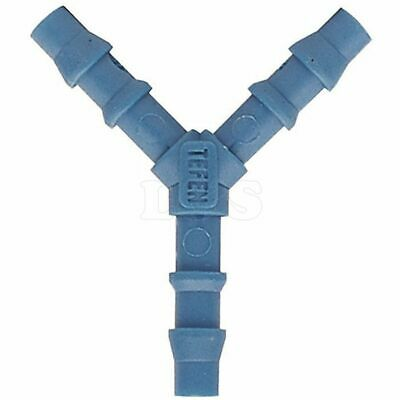 6mm Blue Plastic Plastic Y Shaped Hose Connector