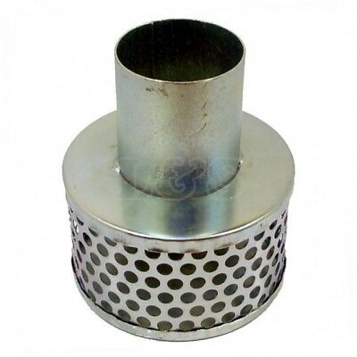 "Hose Strainer 2.1/2""  Tin Can Steel Type"