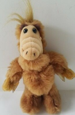 "ALF Doll Plush Toy Small 8"" Stuffed Animal Suction Cup Window Vintage 1980's"