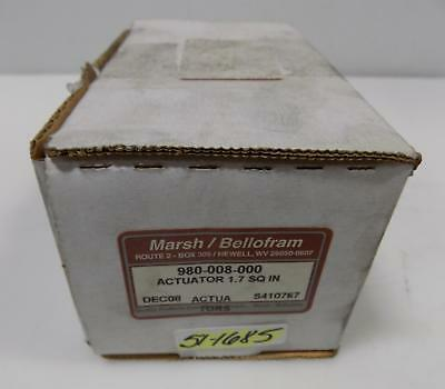 Marsh Bellofram Actuator 980-008-000 Nib