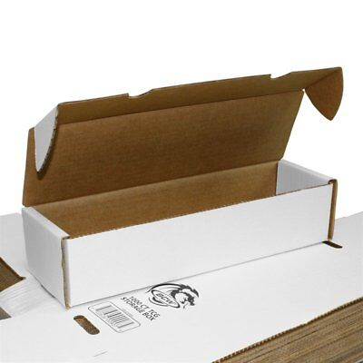 BCW 1000 COUNT Corrugated Cardboard Storage Box for Sports/Trading/Gaming Cards