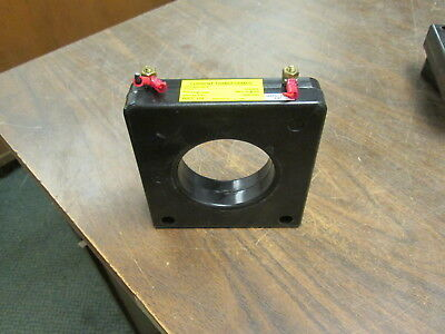 WICC Current Transformer 653-400-00-T Ratio 400:5A 600V 50-400Hz 10KV BIL Used