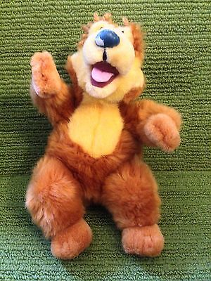 "Jim Henson's Bear In The Big Blue House 7"" Plush Soft Toy - Disney Store - Vgc"