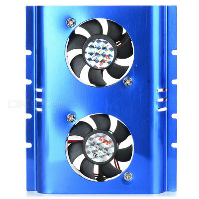 Dual Fans Hard Drive Cooling Attachment