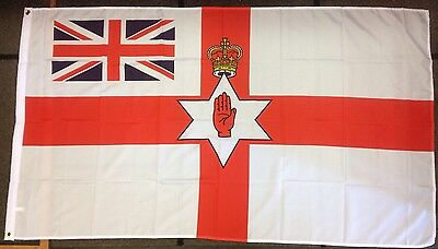 Ulster / Union Insert / Northern Ireland / 5X3F Flag / Ulster Souvenirs