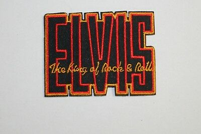 Elvis Presley The King of Rock & Roll Patch