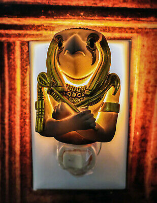 Ebros Ancient Egyptian Horus God Decorative Wall Night Light Figurine