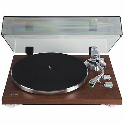 TEAC TN-350-WA Belt-Drive Turntable with Preamp & USB - Walnut