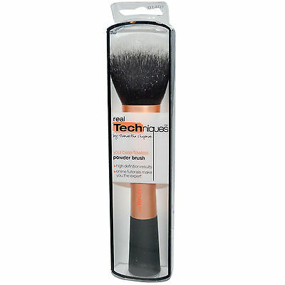 New Original Real Techniques Powder Brush (1401) Power Mineral and Powder UK