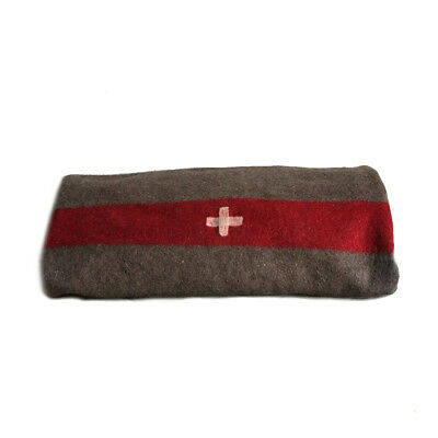 Swiss Army Blanket - Warm wool blend emergency survival blanket - NEW