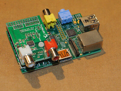 HIFIBERRY DAC & Raspberry Pi + Voluimio + SD Card