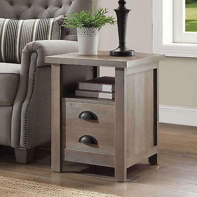 Better Homes And Gardens Granary Modern Farmhouse End Table Multiple Finishes