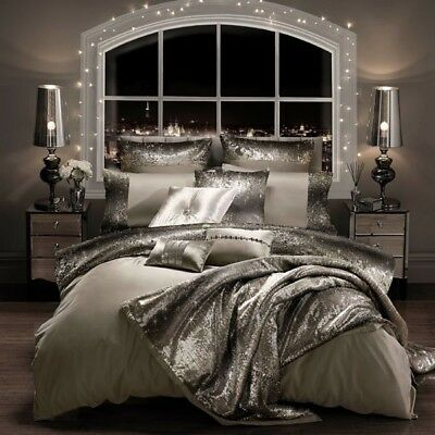 Kylie Minogue Bedding MILA Praline Duvet Quilt Cover, Pillowcases Or Throw