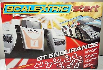 Scalextric C1251 Start -GT Endurance 1:32 Scale Race Set Complete Boxed Free P&P