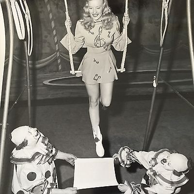 Mary Hartline Super Circus TV, Autographed To Buyer, 1950's