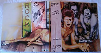 *** DAVID BOWIE - diamond dogs *** RYKO Limited Edition 3306 clear LP