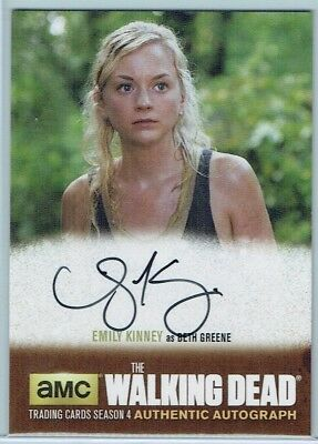 2016 The Walking Dead Season Four Part 1 Au #Ek1 Emily Kinney As Beth Greene