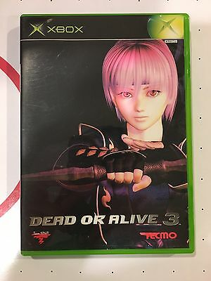 Xbox Dead Or Alive 3 Japan Import Video Game Action - complete