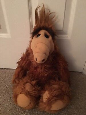 ALF ALF!! Plush Doll  Original Genuine Rare Collectible Vintage 1986 Coleco 18""