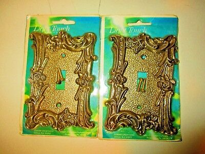 2  - Vintage Light Touch Switch Covers
