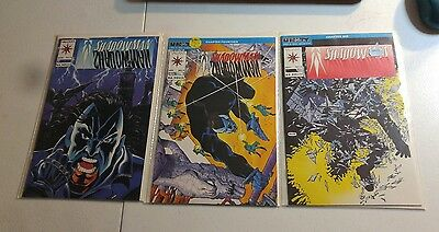 Shadowman #4,5,11 (1992) lot of 3 books Valiant Comics