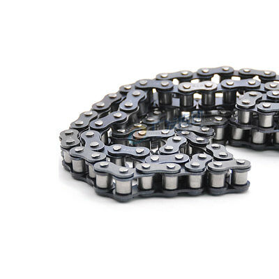 "Precision #25 Roller Chain 25H-1 Pitch 1/4"" 6.35mm Roller Chain 04C-1 x 5 Meters"