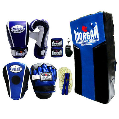 Boxing Pack Bag Mitts Focus Pads Hand Wrap Rope Strike Shield Mma Kick Trainning