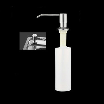KF_ Large Lotion Sink Soap Dispenser Press Bottle with Stainless Steel Pump Ey