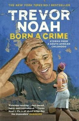 NEW Born A Crime By Trevor Noah Paperback Free Shipping