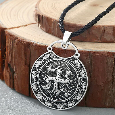 Ancient Slavic Symbol Talisman Pendant Jewelry Men Necklace Collier Amulet Gift