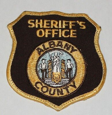 ALBANY COUNTY SHERIFF'S OFFICE Wyoming WY Co SD Used Worn patch