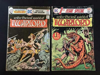 Enter The Lost World of the Warlord 1 and 1st Issue Special (#1, #8) VG