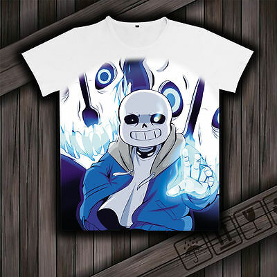Sans Undertale childrens shirt White sizes 8, 10 and 12 available