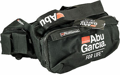 ABU GARCIA Waist Shoulder Tackle Bag with Waterproof Pockets and Reel, Lure Bags