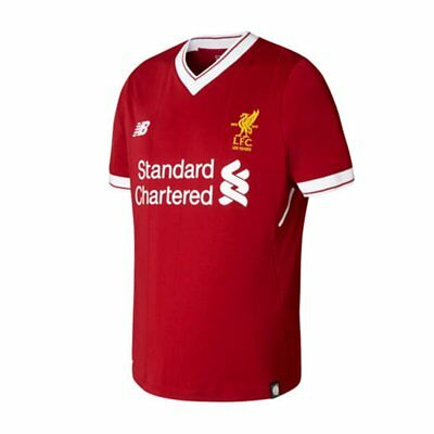 NEW Official Liverpool FC 2017/18 Home Jersey by New Balance (EPL Logo included)