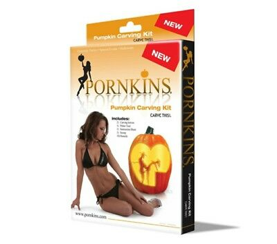 Pornkins Pumpkin Carving Kit Halloween Party Decor  Adult adulting